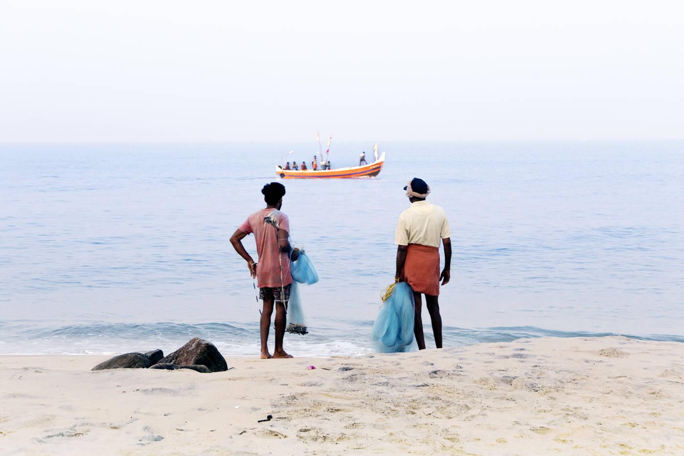 Face à la Mer - Alleppey  2018
