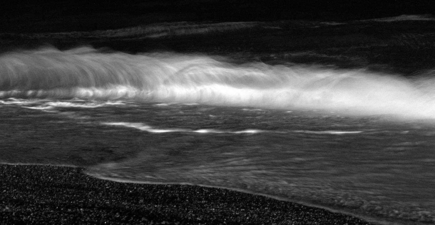 Minuit, la vague